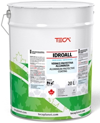 Idroall, resinous aluminum in aqueous emulsion