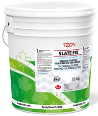 Slate Fix, colourless fixative coating for ceramised and slate-treated sheaths